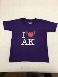 I Heart AK - Youth T-Shirt