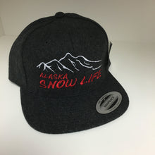 Load image into Gallery viewer, Alaska Snow Life - Flat Bill - Hat