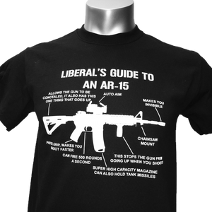 Liberal's Guide to AR-15 - Adult T-Shirt