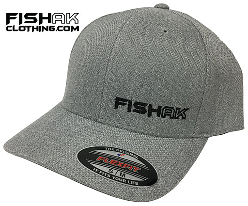 Fish AK - Flex Fit - Solid Back - Hat