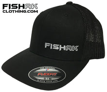 Load image into Gallery viewer, Fish AK - Flex Fit - Mesh Back - Hat