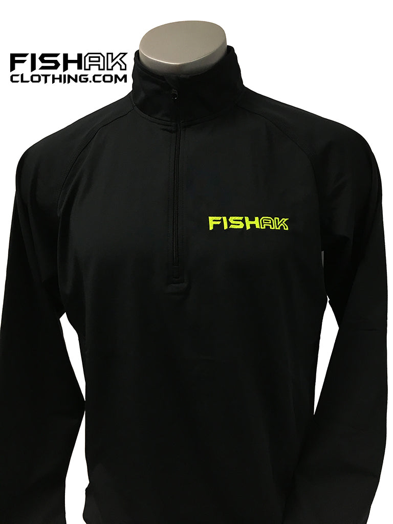 Fish AK - Men's 1/2 Zip Pullover