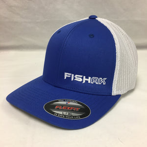 Fish AK - Flex Fit - Mesh Back - Hat