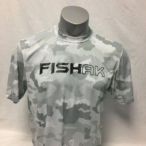 Fish AK - Hex Camo - Performance T-Shirt - Adult