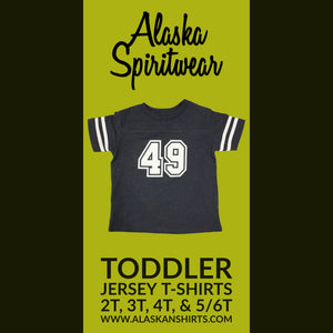 49 Jersey - Toddler T-Shirt