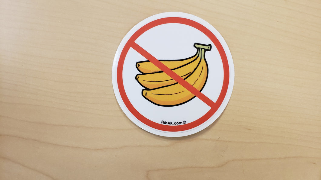 No Bananas - Sticker