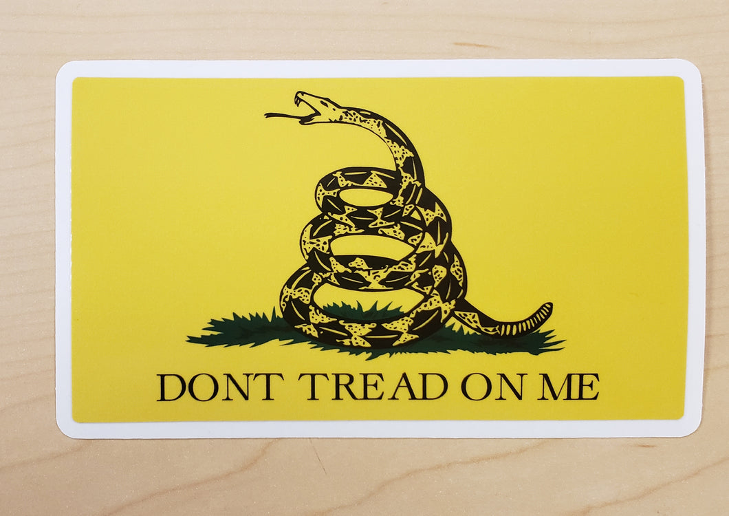 Don't Tread On Me - Sticker