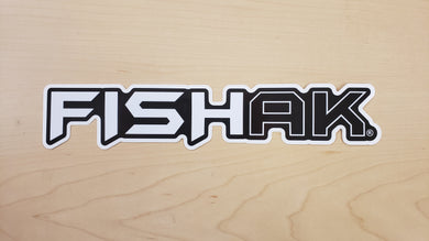 FISH AK  Logo Sticker 9