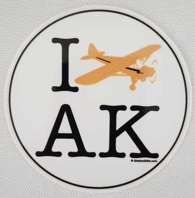 I Fly AK - Sticker