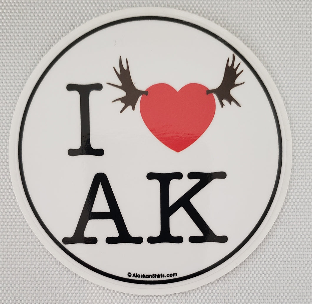 I Heart AK - Sticker