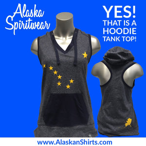 "Big Dipper - Ladies Hooded Tank ""Hank"""