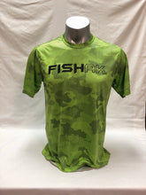 Load image into Gallery viewer, Fish AK - Hex Camo - Performance T-Shirt - Adult