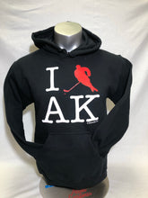 Load image into Gallery viewer, I Hockey AK - Hoodie - Adult (CLEARANCE)