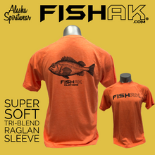 Load image into Gallery viewer, Fish AK - Species Collection - Rockfish - T-Shirt - TriBlend