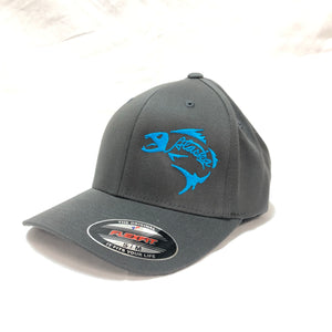 Alaska Fishbones - Flex Fit - Solid Back - Hat
