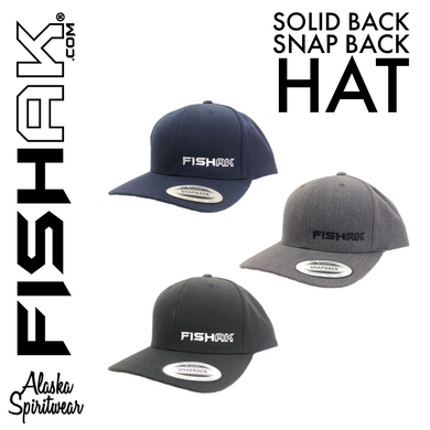 FISH AK - Curve Bill Snapback Hat