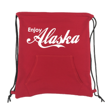 Load image into Gallery viewer, Enjoy Alaska - Hoodie Bag