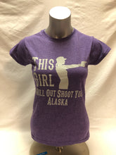 Load image into Gallery viewer, This Girl Will Out Shoot You - T-Shirt - Jr Cut (CLEARANCE)