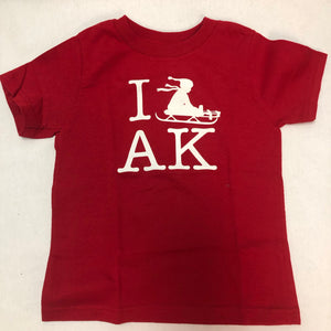 I Sled AK - T-Shirt - Youth