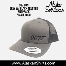 Load image into Gallery viewer, 907 Gun (Small Logo) - Trucker - Hat