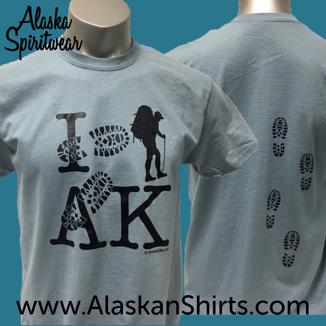 I Hike AK - Adult T-Shirt