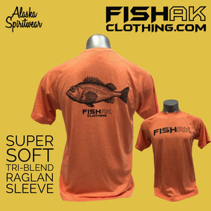 Fish AK - Species Collection - Rockfish - T-Shirt - TriBlend