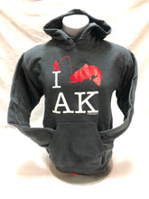 Load image into Gallery viewer, I Fish AK - Adult Hoodie