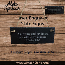 Load image into Gallery viewer, Serve Moose - Slate Sign