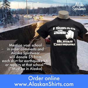 I Survived 2018 Alaska Earthquake - T-Shirt - Youth
