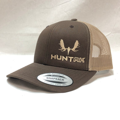 HUNT AK - Moose Skull Trucker Hat