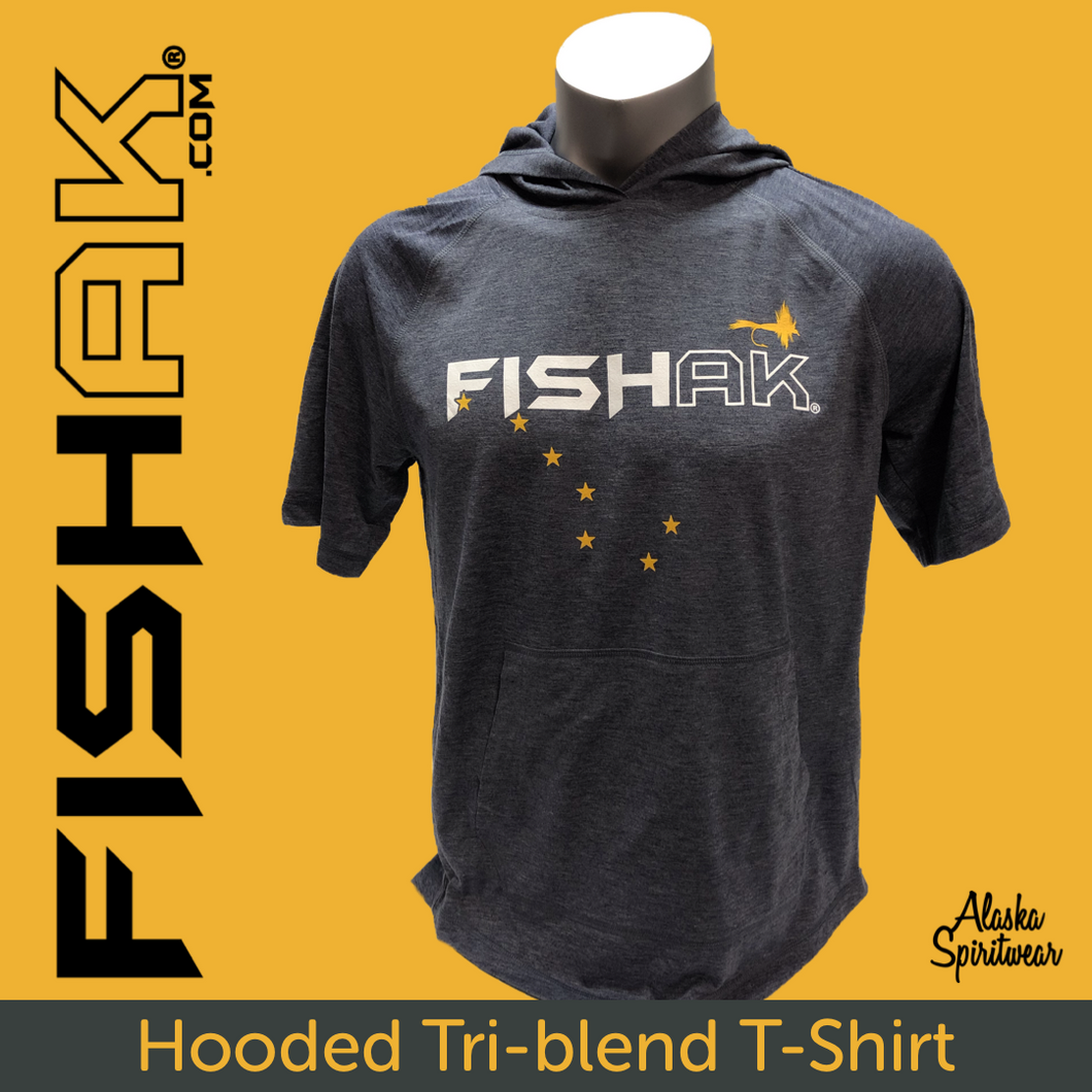 FISH AK Big Dipper with Fly - T-Shirt Hoodie