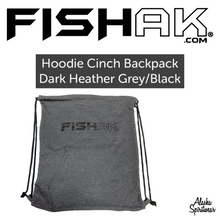 Load image into Gallery viewer, Fish AK - Hoodie Bag