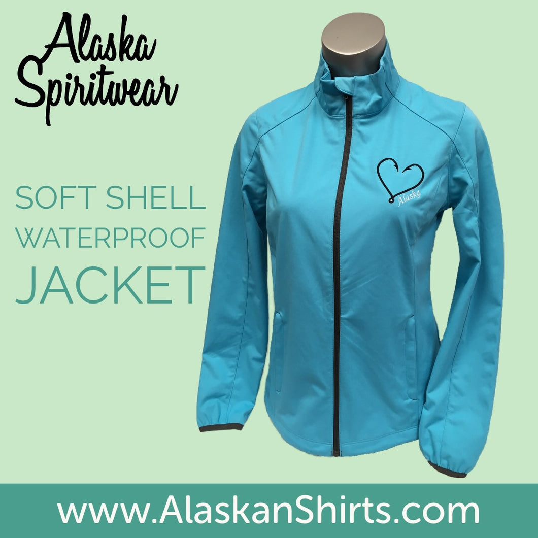 Heart Hook - Full Zip - Soft Shell Jacket
