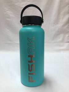 Fish AK - 32oz Stainless Water Bottle