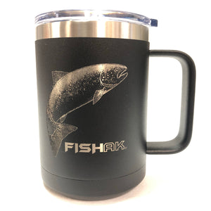 King Salmon - Fish AK - 15oz Stainless Mug