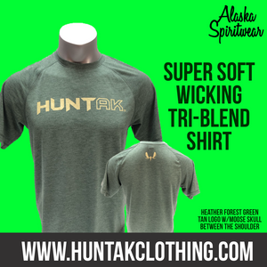 HUNT AK - T-Shirt - TriBlend