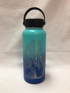 Queen Mermaid - 32oz Stainless Water Bottle