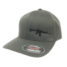 Load image into Gallery viewer, AR-15 - Flex Fit - Solid Back - Hat