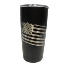 Load image into Gallery viewer, Grunge Flag - 20oz Tumbler