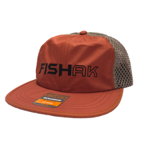 Load image into Gallery viewer, FISH AK - Packable Floatable Mesh Cap