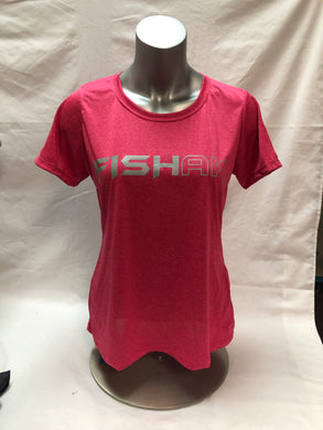 Fish AK - Ladies Contender Performance T-Shirts
