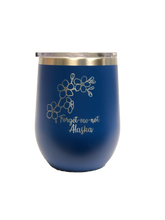 Load image into Gallery viewer, Forget-Me-Not - 12oz Wine Tumbler