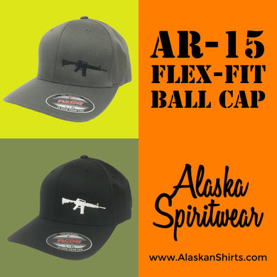AR-15 - Flex Fit - Solid Back - Hat