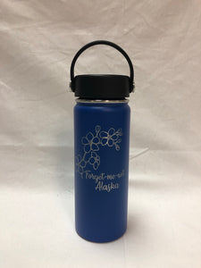 Forget-Me-Not - 18oz Stainless Water Bottle