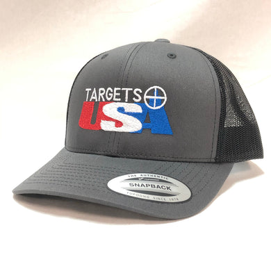 Targets USA - Six-Panel Retro Trucker Cap Adjustable