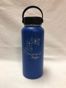 Forget-Me-Not - 32oz Stainless Water Bottle