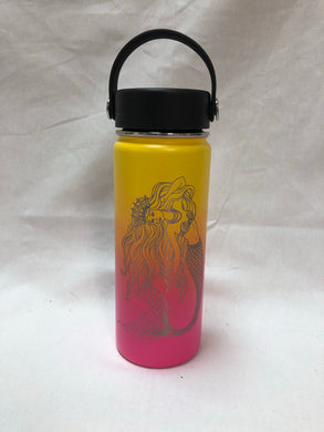 Queen Mermaid - 18oz Stainless Water Bottle