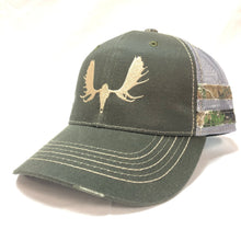 Load image into Gallery viewer, Moose Skull - Trucker - Hat