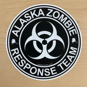 Alaska Zombie Response Team - Sticker