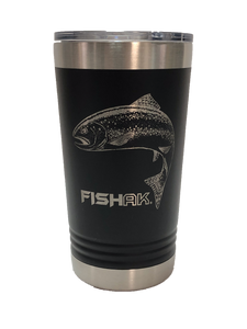 Trout - 16oz Stainless Pint Tumbler